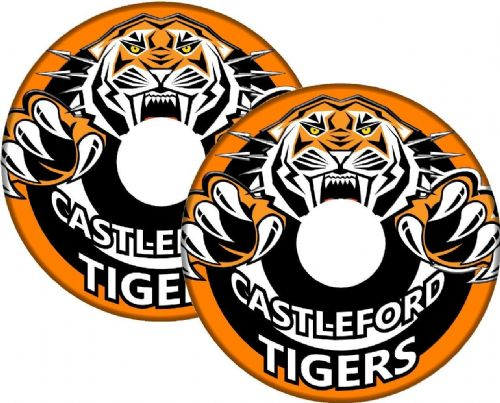 CAS TIGERS Wheelchair Spoke Guard Sticker Skins